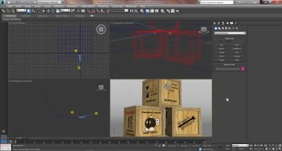 Screenshot of 3ds Max viewport interface
